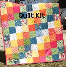 Best Day Ever Patchwork Baby Quilt Kit, Simple Quick Easy | Patterns & Best Day Ever Patchwork Baby Quilt Kit, Simple Quick Easy Adamdwight.com