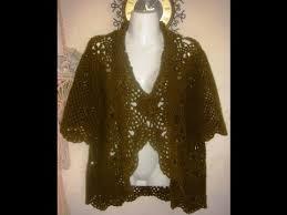 <b>Жакет</b>-<b>болеро</b> крючком. Часть 1 - вяжем мотив.Crocheted jacket ...