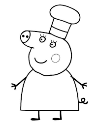 Find more coloring pages online for kids and adults of mummy peppa pig coloring pages to print. Peppa Pig Coloring Pages Print For Free Wonder Day