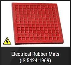 rubber mats for electrical purpose is 5424