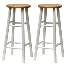 Wooden stools with back Metal Winsome Wood Bar Stool Winsome Wood Bar Stool In Natural Finish With White Legs Winsome Wood Winsome Wood Bar Stool Apartmentz Winsome Wood Bar Stool Swivel Bar Stool With Back Winsome Wooden
