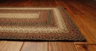 jute primitive braided area rug rectangle beige russet primitive country area rugs