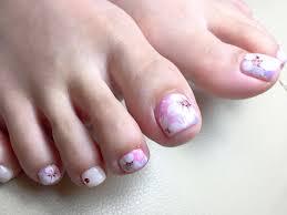 ハンドフットの桜ネイル ジェルネイル Nail Salon Cobes