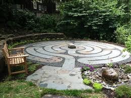 Small Picture Healing Labyrinth Garden Garden Design