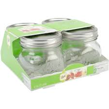 ball 4 oz mason jars. ball wide mouth canning jar 4/pkg-pint 4 oz mason jars