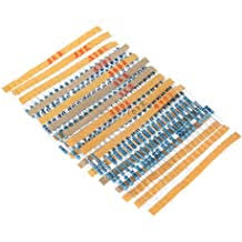 WINGONEER <b>300PCS</b> 1/2W Watt 1% Carbon Film Resistors ...