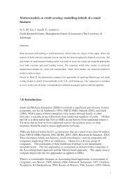 merton models or credit scoring modelling default of a small merton models or credit scoring modelling default of a small business pdf available
