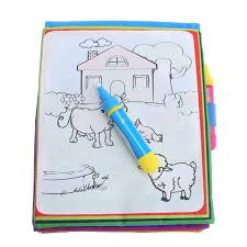 new kids magic water drawing book s painting water coloring cloth for children drawing early educational