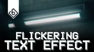 Sony Vegas Light Flicker Effect How To Create Text Flickering Effect Sony Vegas Tutorial