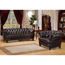 Leather Living Rooms Sets Amax Roosevelt 2 Piece Leather Living Room Set Wayfair