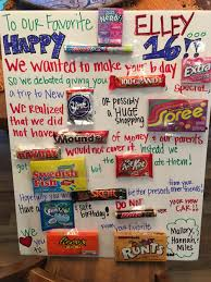 candy bar poster ideas with clever sayings best posters and