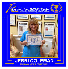 EDEN All-Star of the Week - Riverview Health Care Center