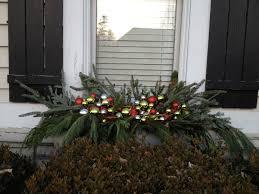 Christmas Window Box Decorations Decor Amore Christmas Windowbox Decorations 15