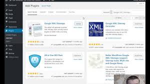 how to install google xml sitemap wordpress plugin