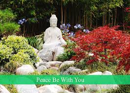 Peace Be With You buddha floral-Photo by Dustin Woods Photograph by Dustin  Woods