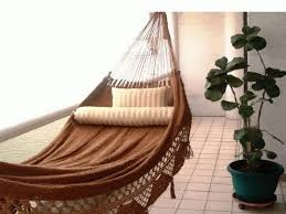 Home Accessories:How To Make Diy Le Beanock Indoor Hammock With Brown  Colour How to Make DIY Le Beanock Indoor Hammock