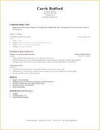 High School Cv Sample High School Student Resume Builder Best Cv Template Work Experience