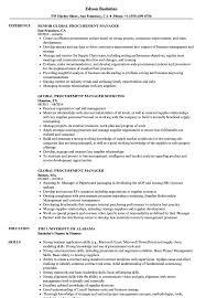 Resume Of Procurement Manager 8 Procurement Manager Resume Precis