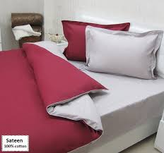 red and grey duvet cover sets
