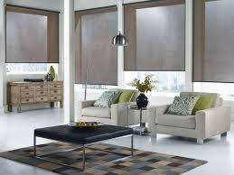 Roller Blinds modern-living-room