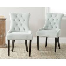 light blue dining chairs. Safavieh En Vogue Dining Bowie Light Blue Chairs (Set Of 2)