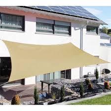outsunny rectangle outdoor sun shade sail canopy sand com