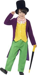 sentinel wonka world book day kids fancy dress roald dahl boys character costume