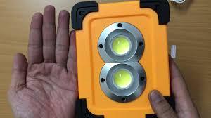 Đèn led xách tay đa năng hiện đại, kiêm sạc dự phòng, có sạc bằng năng  lượng mặt trời (DP135) - YouTube