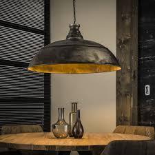 Industriële Hanglamp De Industriële Hanglamp Bromo ø80 Cm Oud Zilver
