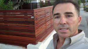 horizontal wood fence door. Contemporary, Modern, Horizontal Fence And Gate Install In Culver City. - YouTube Wood Door