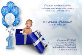 balloon and gift baby boy first birthday invitation wording ideas ideal baby boy birthday invitation template
