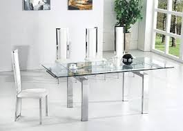 extendable glass dining table large size of smart extendable glass dining table give elegant look exciting