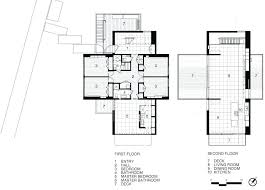 beach house plans australia modern floor narrow lot walk first houses in