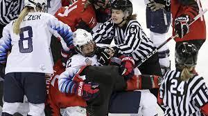 USA Vs Canada Olympic Women's Hockey ...