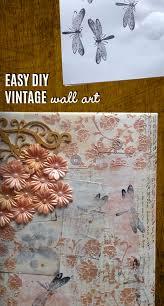easy diy vintage room decor leadersrooms