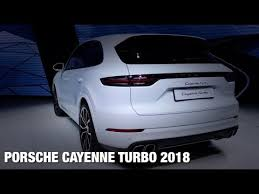 porsche cayenne turbo 2018. plain 2018 2018 porsche cayenne turbo review interior exterior with porsche cayenne turbo