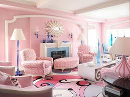 Bold Pink Living Room