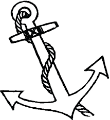 anchor coloring page for boat anchor coloring pages anchor coloring page