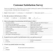 Customer Satisfaction Survey Template Impressive Customer Satisfaction Survey Email Template Chaseeventsco