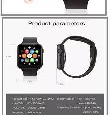 2020 New Smartwatch W6 38Mm Đồng Hồ 6 Đồng Hồ Thông Minh Thiết Bị Theo Dõi  Nhịp Tim ECG Nhiệt Độ Không Thấm Nước IP68 PK IWO 11 IWO 8 IWO 13