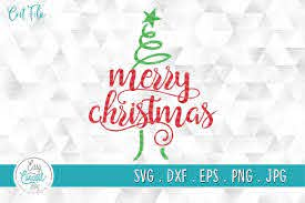 Merry Christmas Svg Christmas Tree Svg Graphic By Easyconceptsvg Creative Fabrica