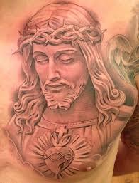 фото и значение тату иисуса христа
