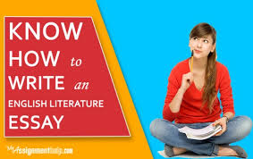 know how to write an english literature essay how to make your essay a quality