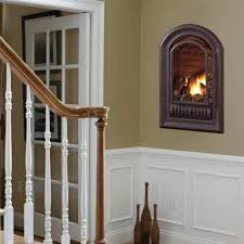 top gas insert fireplace cost on vent free gas fireplaces a series arched gas fireplace insert