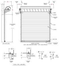model 2500 rolling steel mercial garage door heavy duty roll up rollup2500 curtain steel roll up doors
