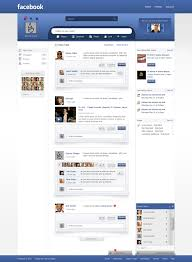 Facebook Redesign 10 Different Layout Design Possibilities