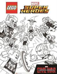 The avengers are a fictional team of superheroes appearing in american comic books published by marvel comics since 1963. Kids N Fun Com 15 Coloring Pages Of Lego Marvel Avengers
