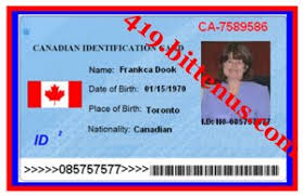 Canada Card License Id Drivers -