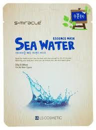 LS Cosmetic <b>тканевая маска</b> s+miracle с <b>морской</b> водой — купить ...