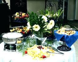 buffet table setup ideas round setting for wedding settings modern